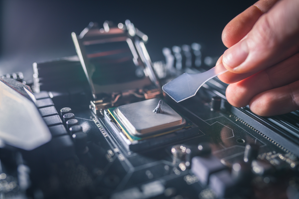 Thermal paste can help cool your gaming laptop without taking up any additional space.