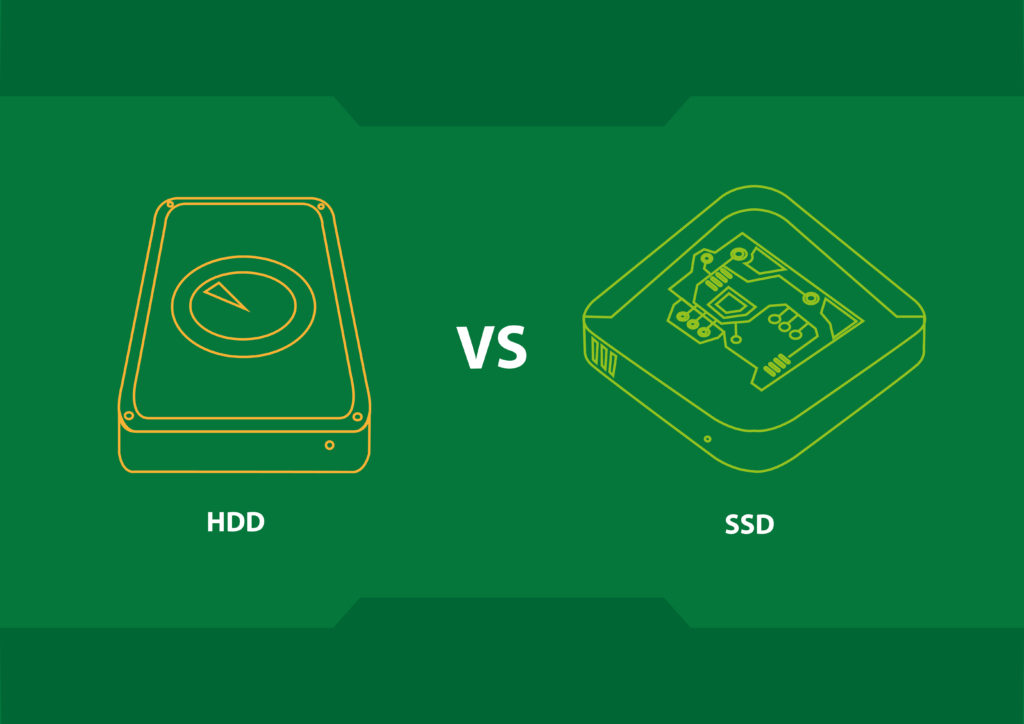 choosing HDD SSD computer